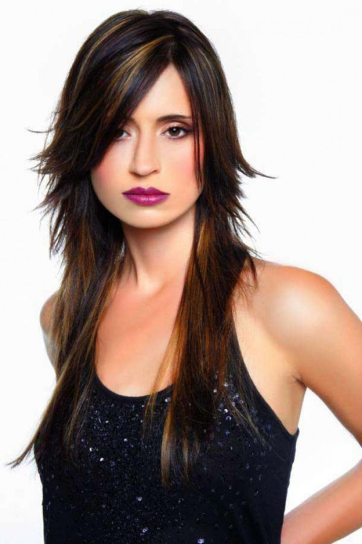 8 best long choppy hair cuts images on pinterest | hairstyles