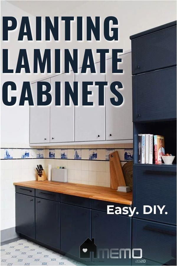Nov 27 2019 Step By Step Diy Guide On How To Paint Laminate Kitchen Cabinets Laminate Cabinets Laminate Kitchen Cabinets Painting Laminate Kitchen Cabinets