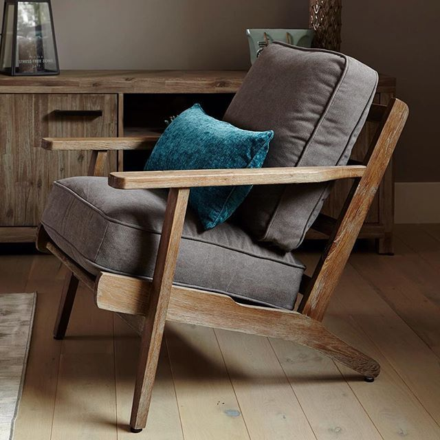Accent Chair Inspo: The Powell Armchair With Sleek, Airy Frame And Deep  Plush Cushions