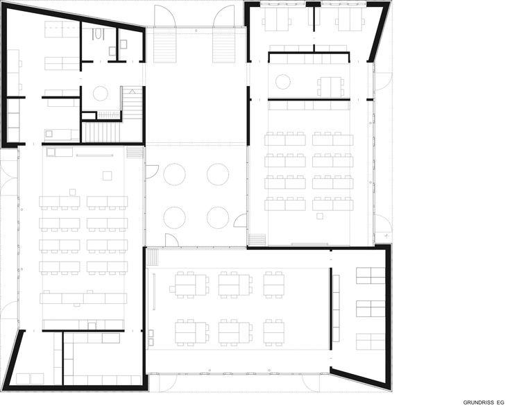 14 besten typ schule bilder auf pinterest architektur for Raumgestaltung schule