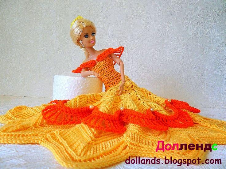 Наряды для кукол барби Белль Диснеевская принцесса