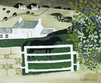 Black Horse,  Mary Fedden. I particularly love this one.