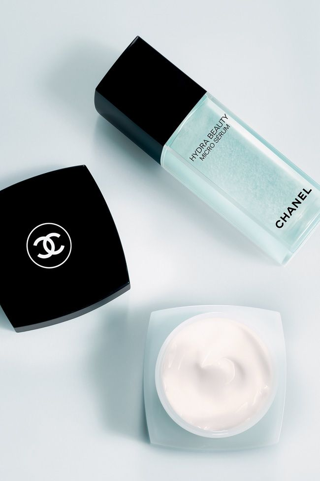 CHANEL Hydra Beauty Micro Sérum and cream yes please love this skin care by chanel