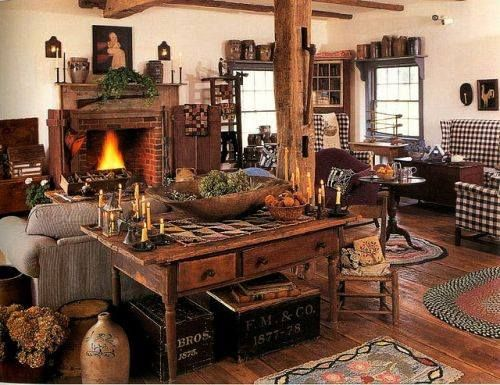 A primitive living room primitive living rooms pinterest for Primitive decorating ideas for living room