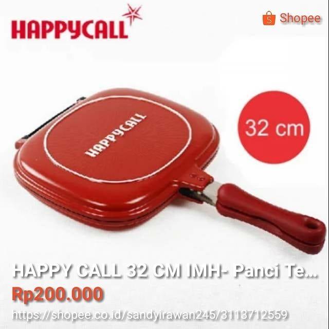 Termurah Happy Call 32 Cm Imh Panci Teflon Happycall Original Adalah Happy Call Hanya Menggunakan Sedikit Minyak Atau Tidak Untuk Me Happycall Saute Pan Pan