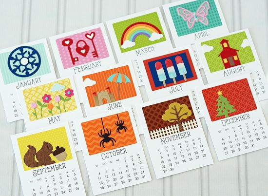 77 best calendar projects images on pinterest display easel paper 2015 calendar by taylor vanbruggen these are super cute but i dont think the calendar base cards are available in digital format m4hsunfo