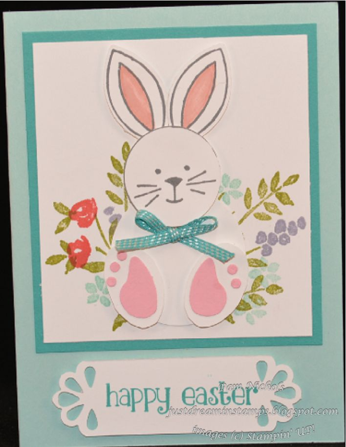 894 best cards easter images on pinterest bunny rabbit easter just dreamin stamps easter blog hop stampin up easter card friends and negle Choice Image
