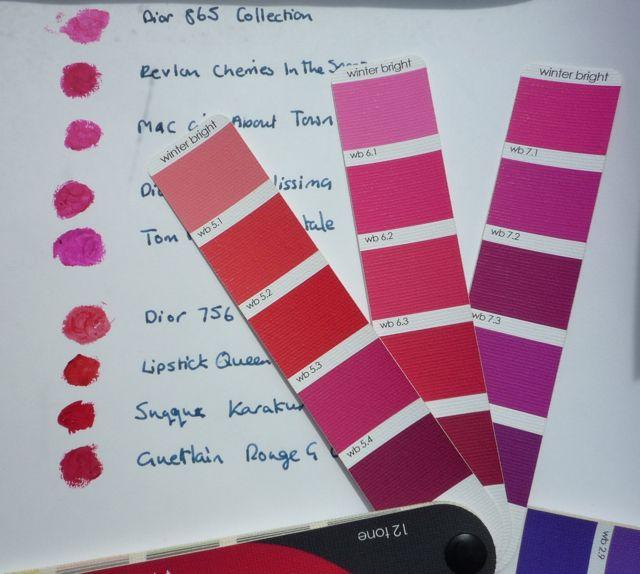London MakeUp Girl: Bright Winter lipsticks