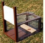#homestead #Rabbits - how to build Ray's Rabbit Trap