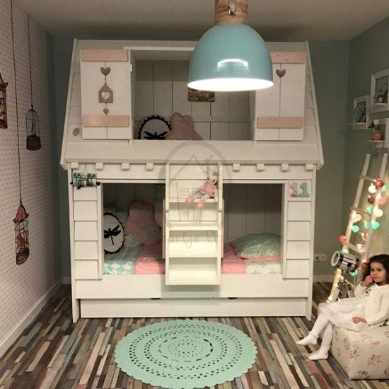 17 beste idee n over meisjes stapelbed op pinterest zus slaapkamer meisjes kamer gordijnen en - Kamer gordijnen kind ...