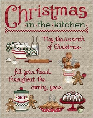 """""""Christmas In The Kitchen"""" by Sue Hillis Designs"""
