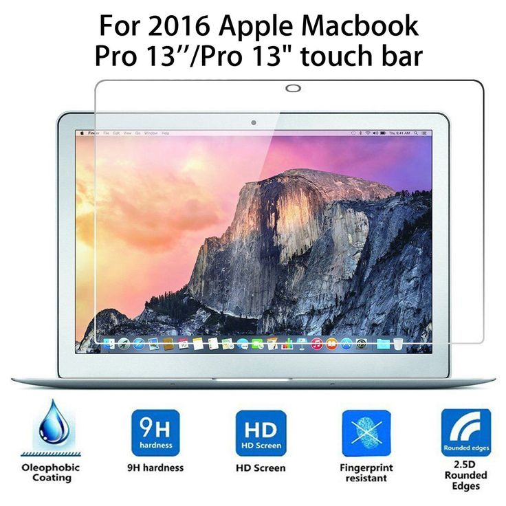 Explosion Proof HD Tempered Glass Film Screen Protector For 2016 Macbook Pro 13…