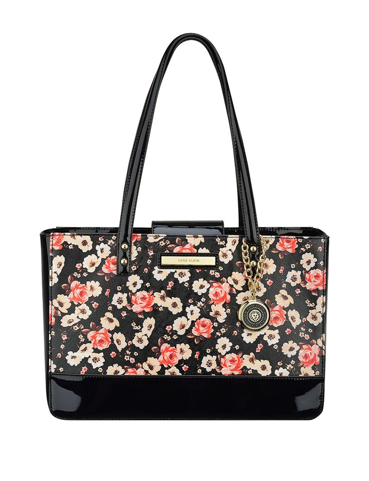 Love!!!!  Anne Klein Pretty in Pink Floral Tote Bag | Stage Stores