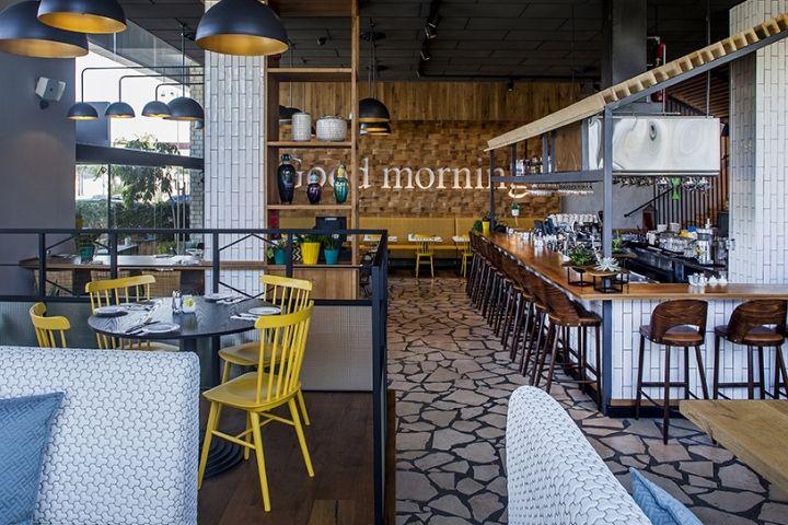 Benedict restaurant by Studio Yaron Tal