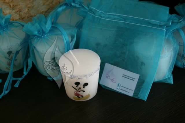 Mickey mouse candle vanilla