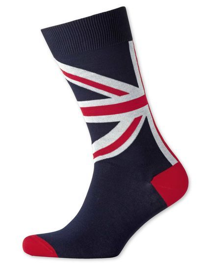Union Jack socks