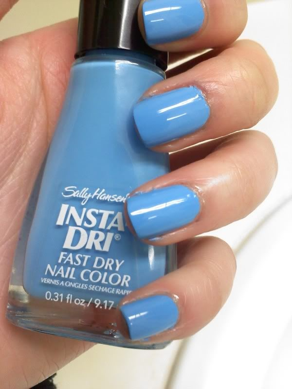 Sally Hansen Insta Dri in Blue Blast