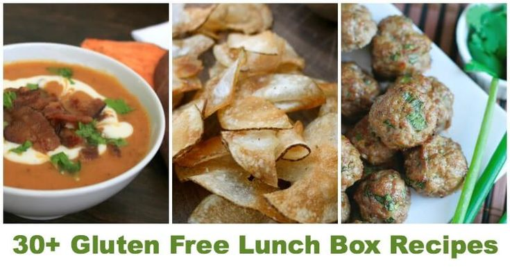 Gluten Free Lunch Ideas - Don't Mess with Mamas