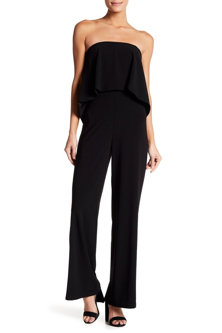 Classic Black Do + Be Tube Popover Jumpsuit