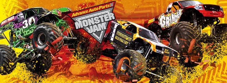 Look It's Megryansmom: Advance Auto Parts Monster Jam - Ticket Giveaway