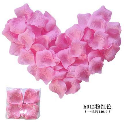 700 Pcs Silk Flower Rose Petals Artificial Flower Silk Petals Wedding Flowers Bruiloft Accessoires Decoratie Petalos Flores