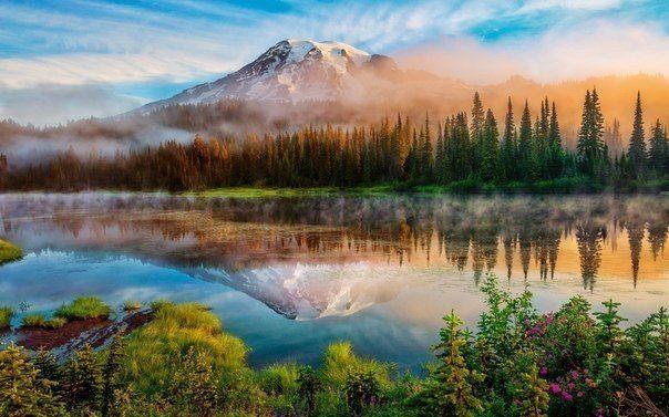 Маунт-Рейнир, штат Вашингтон, США