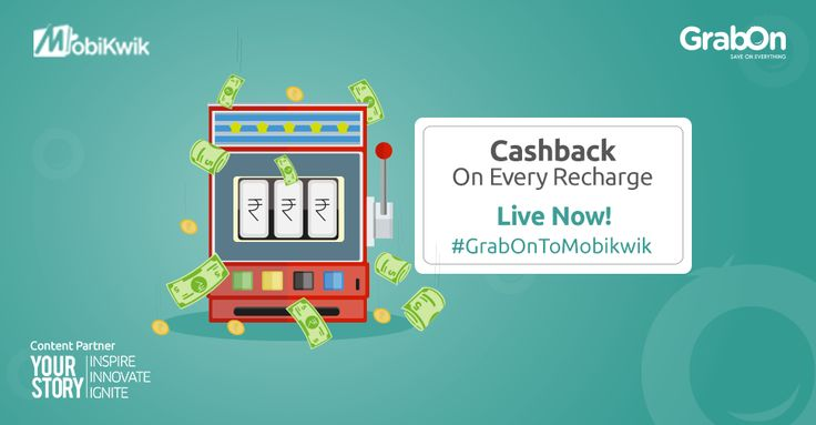 And So It Starts! Play The Cashback Casino Now & Win Exclusive Cashback Coupons! Powered By Mobikwik, With YourStory As The Content Partner, Play Now: mobikwik.grabon.in #GrabOnToMobikwik