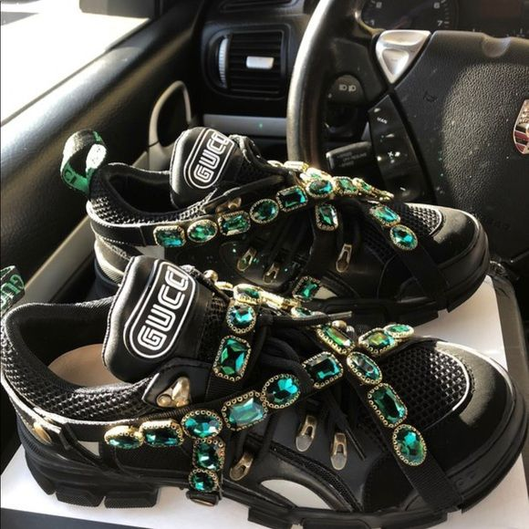 Gucci Sneakers | Womens sneakers, Shoes