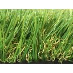 Greenline Sapphire 50 Fescue Artificial Grass Synthetic Lawn Turf Carpet for Outdoor Landscape 15 ft. x Custom Length