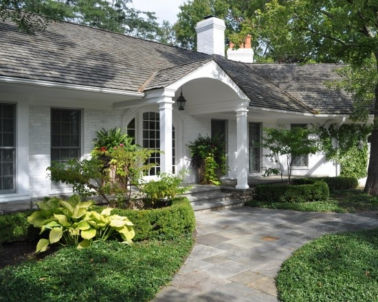 Brick houses design pictures remodel decor and ideas for Ranch house curb appeal