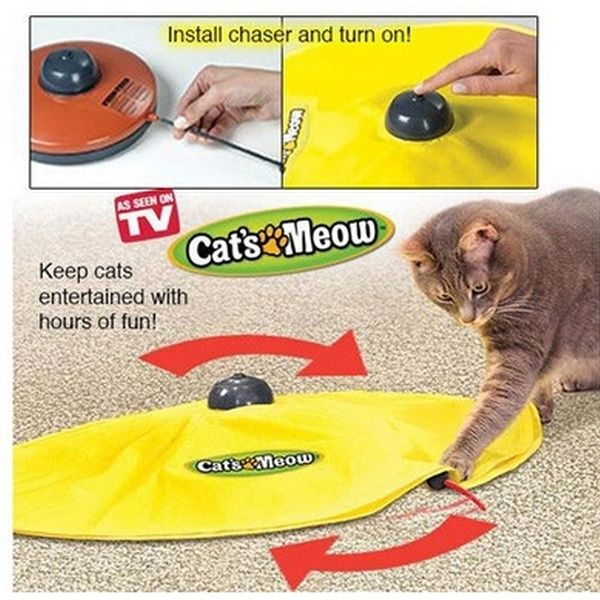 Cat S Meow Toy Cat Dish Electric Cat Pet Toy Fourth Gear Panic Mouse Interactive Cat Toys Cat Toys Pet Toys