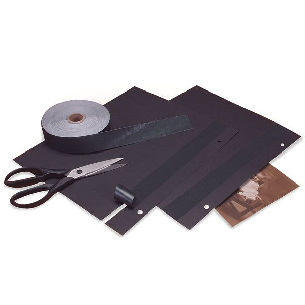 Self-Adhesive Cloth Hinging/Finishing Tapes From Lineco