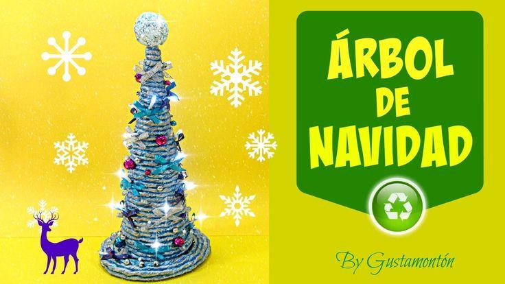 Técnica del cordón de papel: Árbol de Navidad. Christmas tree.