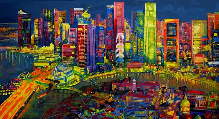 Ulpiano Carrasco - Map of Singapore