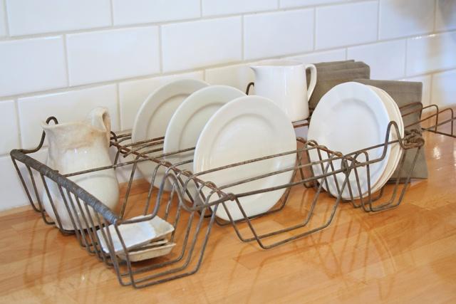 Wrought Iron Dish Drying Rack