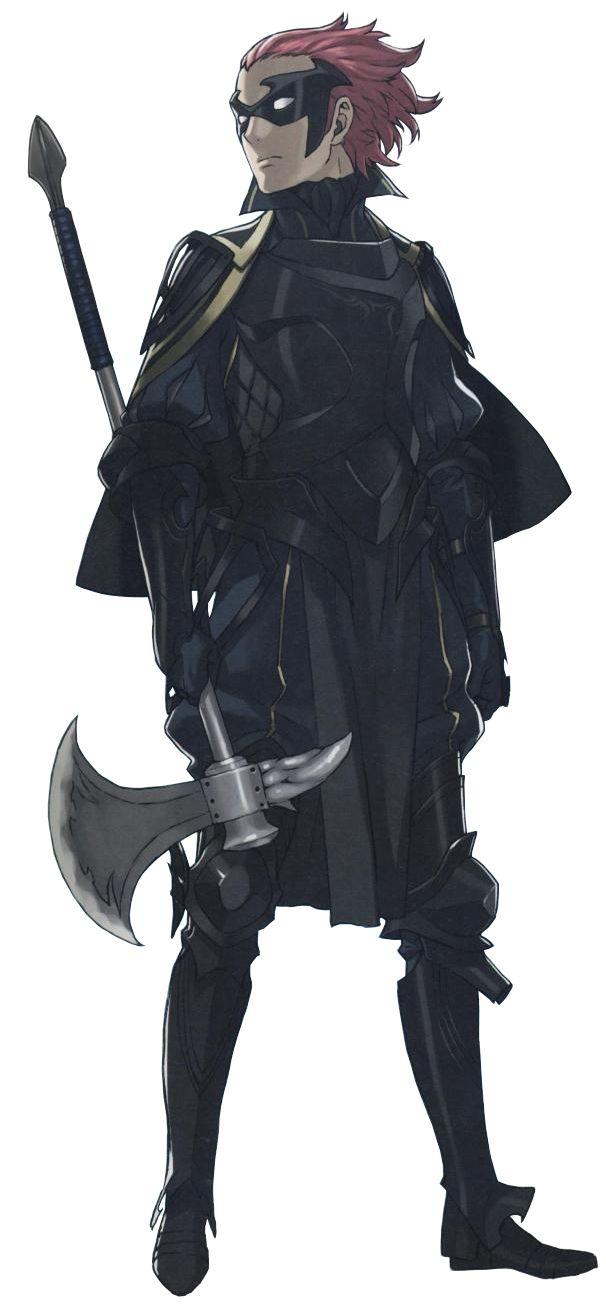 Fire Emblem: Kakusei/ Awakening, Jerome  UM CAN WE TALK ABOUT HOW HE LOOKS LIKE A MEMBER OF THE BATFAM???? ?