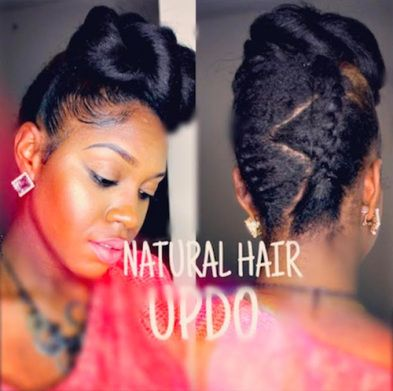 42 best updo hairstyles images on pinterest braids hairstyle fancy updo hairstyle for black women pmusecretfo Images