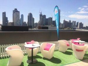 Kara's Party Ideas Mattel Barbie Pearl themed birthday party via Kara's Party Ideas | Cake, decor, cupcakes, games and more! KarasPartyIdeas.com #barbieparty #barbie #barbiedoll #girlypartyideas #partdecor (14) | Kara's Party Ideas