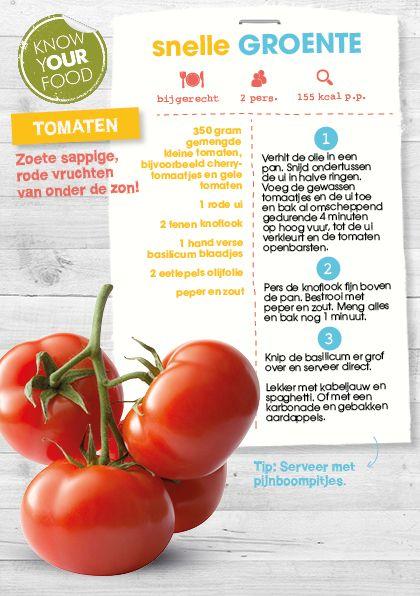 Snelle groente - tomaten