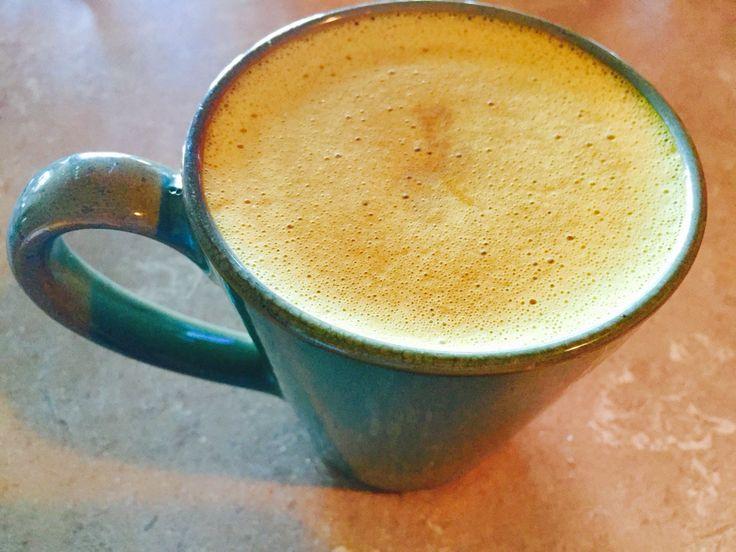 Turmeric hemp milk latte