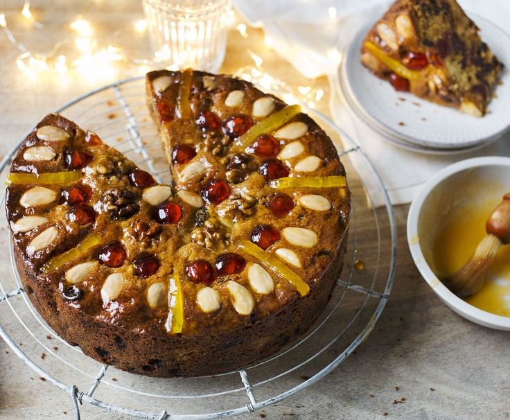 Make Mary Berry's delectably moist and fruity cake as an alternative to traditional Christmas cake
