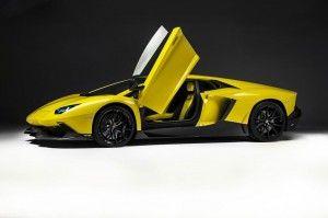 Voiture de luxe : Découvrez au Salon de Shanghai 2013, la Lamborghini Aventador LP720-4 Anniversario Edition. Plus d'infos et des photos sur notre blog auto !