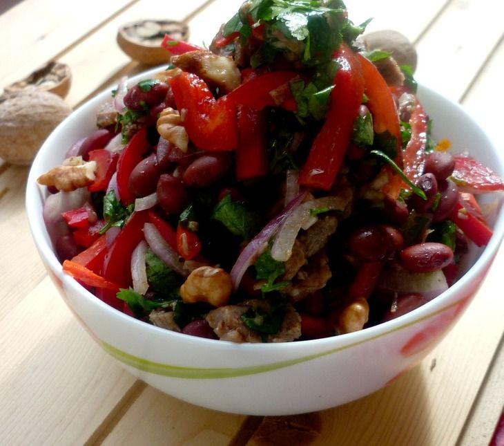 Грузинский салат Тбилиси рецепт с фотографиями
