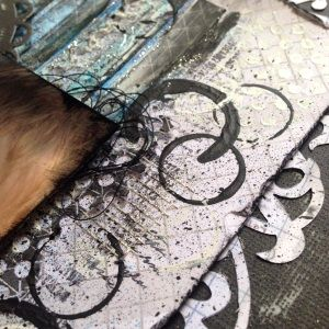 #couturecreationsaus   Tina Connolly Sneak Peek Mixed Media Class Scrapbook & Papercraft Expo June 7th - 9th 2014 BOOK NOW