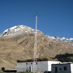Solar-wind hybrid system - energy solution for remote high altitude villages http://www.pragya.org/energy-technology.php