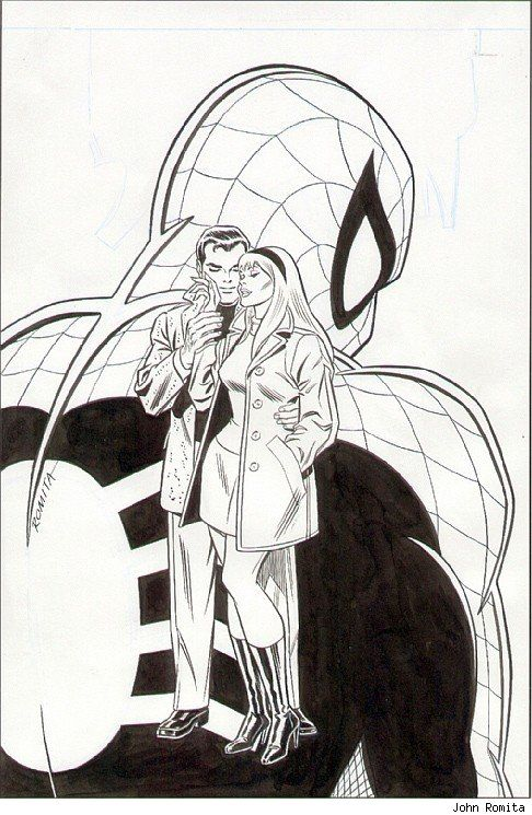John Romita Sr. When he appeared on the comic scene, his artwork was clean, simple and direct. He's always been one of my favorites.