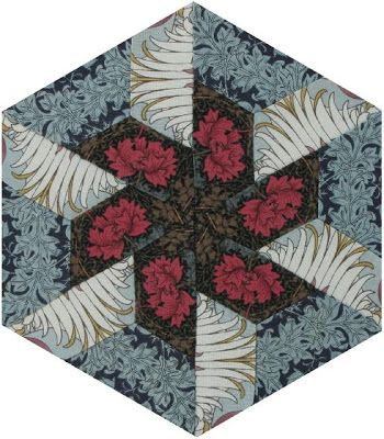 Morris Hexathon 18: Parquetry by Becky Brown