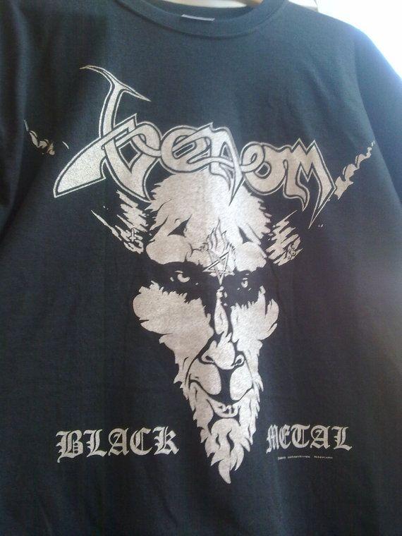 Venom black metal  vintage t shirt original di vintageremember