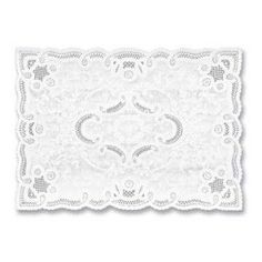 Great Party Supply Store - Paper Lace Placemats, Normandy