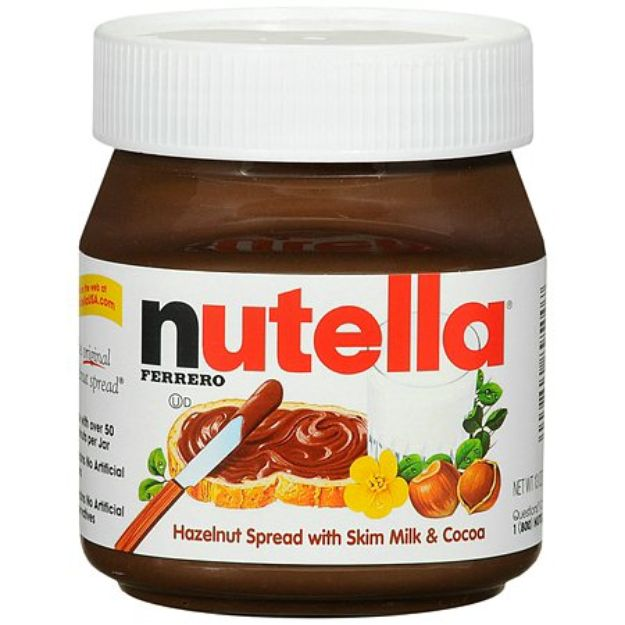 I'm learning all about Nutella : Hazelnut With Skim Milk & Cocoa Spread at @Influenster! @NutellaUSA